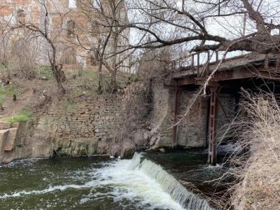 Кіровоградщина: місто Благовіщенське під загрозою затоплення (ФОТО)