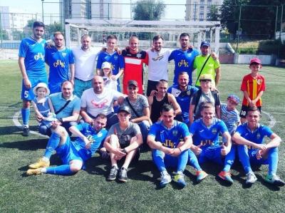 В Кропивницкому прошел первый турнир по дворовому футболу